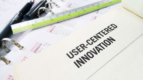 User centered innovation Royalty Free Stock Photos