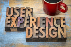 User experience design Stock Image