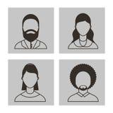 User figure social community Stock Photos