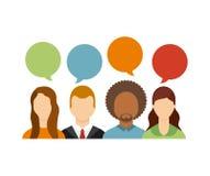 User figure social community Stock Images