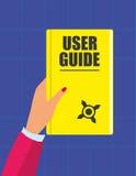User Guide Handbook Royalty Free Stock Photo