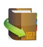 User guide, user manual book Royalty Free Stock Photos