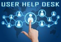 User Help Desk Stock Images