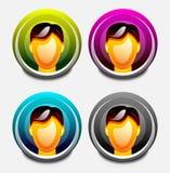 User icon Stock Photos