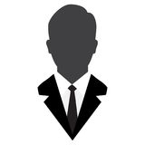 User Icon, Male avatar in business suit-Vector Iconic Stock Image