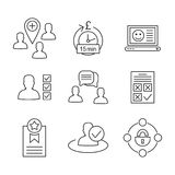 User icon6 Royalty Free Stock Images