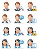 User icons Stock Photos
