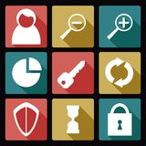 User icons Stock Photo