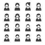 User icons Royalty Free Stock Image