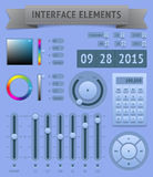 User interface elements Stock Photography