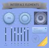 User interface elements Stock Photo