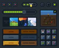 The user interface for the game royalty free illustration