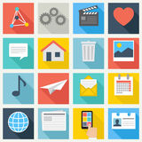 User Interface Icons Set - vector EPS10 Stock Photo
