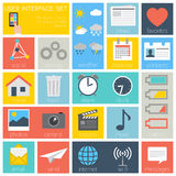User Interface Icons Set - vector EPS10 Royalty Free Stock Photo