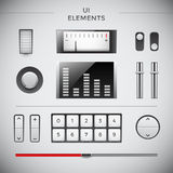 User interface items Royalty Free Stock Image