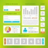 User interface kit Stock Photos