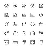 User Interface Line Vector Icons 37 Stock Images