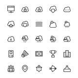 User Interface Line Vector Icons 56 Stock Photos