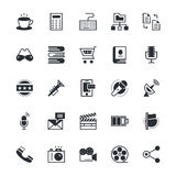User Interface and Web Colored Vector Icons 7 Royalty Free Stock Photo