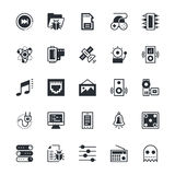 User Interface and Web Colored Vector Icons 10 Royalty Free Stock Photos