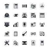 User Interface and Web Colored Vector Icons 3 Royalty Free Stock Image
