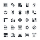 User Interface and Web Colored Vector Icons 12 Royalty Free Stock Image
