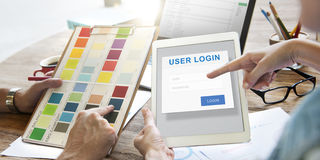 User Login Security Privacy Protection Concept Royalty Free Stock Photo