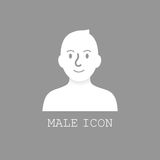User male icon vector. Stock Photography