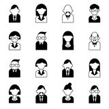 User management icon set vector illustration Royalty Free Stock Image