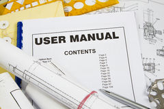 User manual Stock Photos