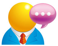 User message Royalty Free Stock Images