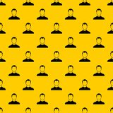 User pattern vector. User pattern seamless vector repeat geometric yellow for any design vector illustration
