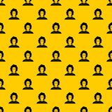User pattern vector. User pattern seamless vector repeat geometric yellow for any design stock illustration