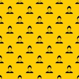 User pattern vector. User pattern seamless vector repeat geometric yellow for any design royalty free illustration