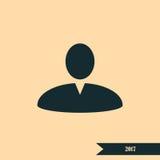 User profile web icon  illustration Stock Images