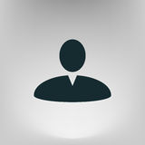 User profile web icon  illustration Royalty Free Stock Photo