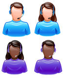 User's support royalty free illustration