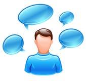 User talks Stock Photo