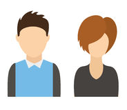 Users icon Stock Photography