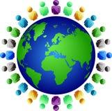 Users worldwide Stock Image