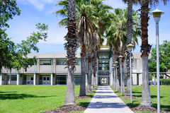 USF campus landscape: college of public health Stock Images