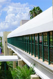USF campus: walk bridge Royalty Free Stock Photos