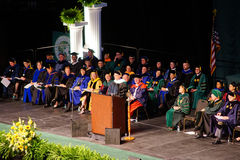 USF 2014 commencement Royalty Free Stock Images