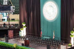 USF 2014 commencement: Stock Image