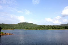 Usgaon Lake stock image