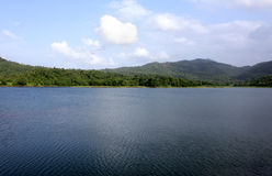 Usgaon Lake Stock Photo