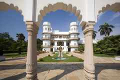 Usha Kiran Palace - Gwalior - India Stock Image