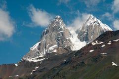Ushba - Caucasus Mountains Stock Images