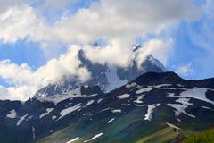 Ushba Mount Stock Images