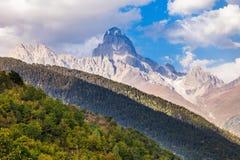 Ushba mountain, Georgia Stock Photography